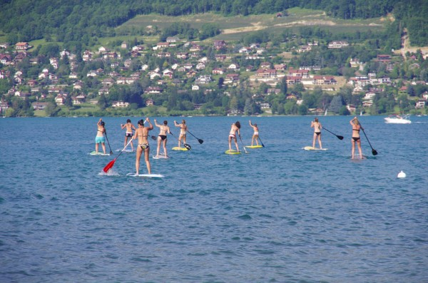 tests stand up paddle Annecy